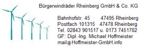 Bürgerwindräder Rheinberg